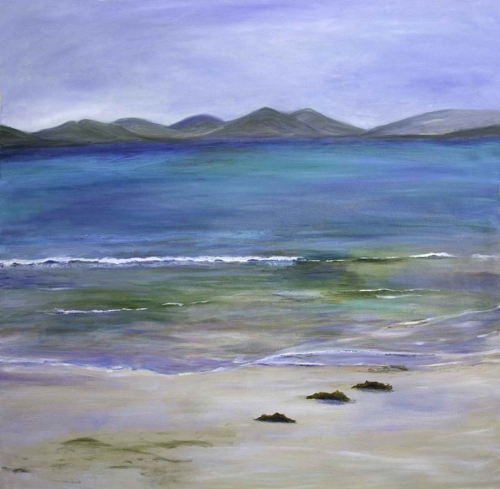 Beach - Hebrides harris turquoise sea